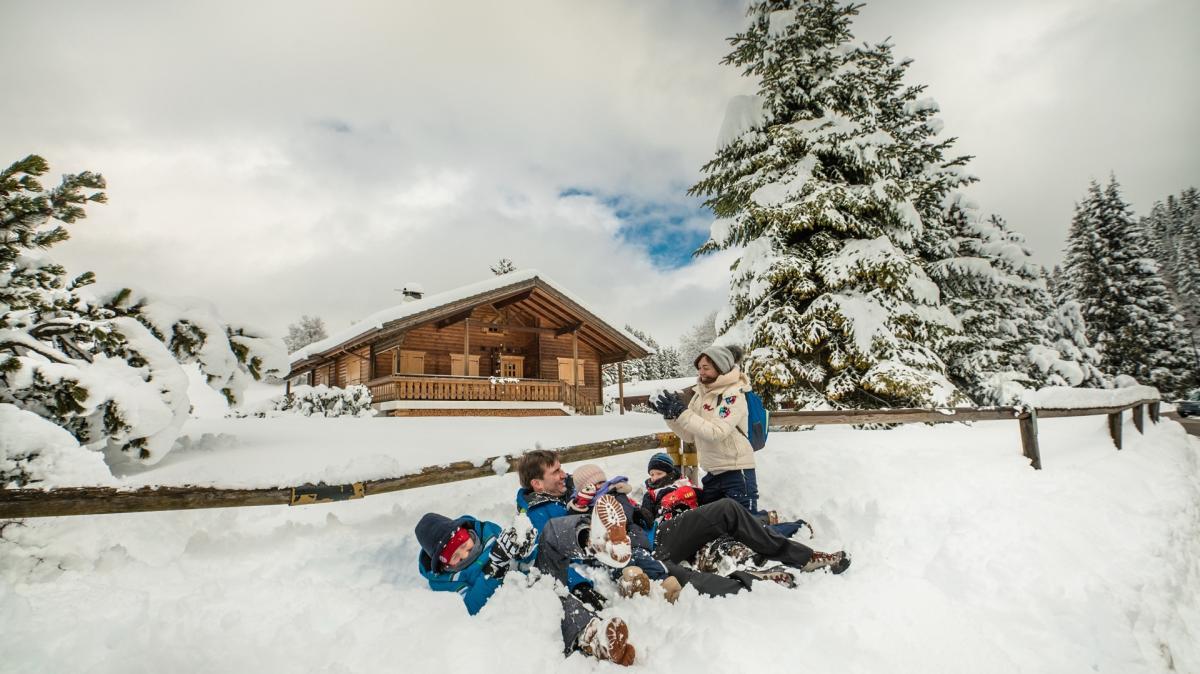 Vacanze sulla neve in Trentino con bambini, scegli la Paganella