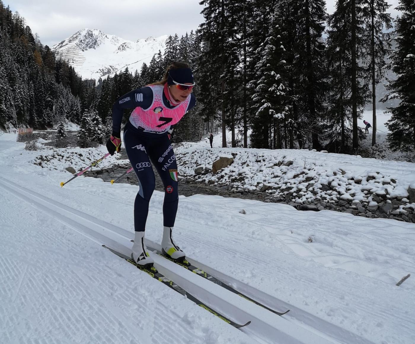 Francesca: von den Abfahrtspisten der Paganella in die Langlauf-Nationalmannschaft von Italien