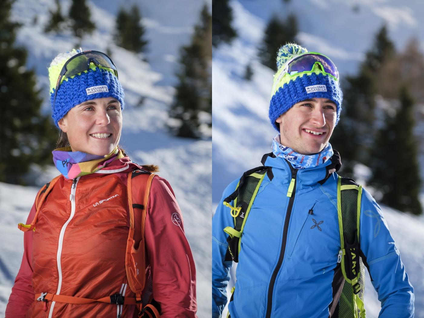 Elena e Federico, l'amore per la montagna da generazioni