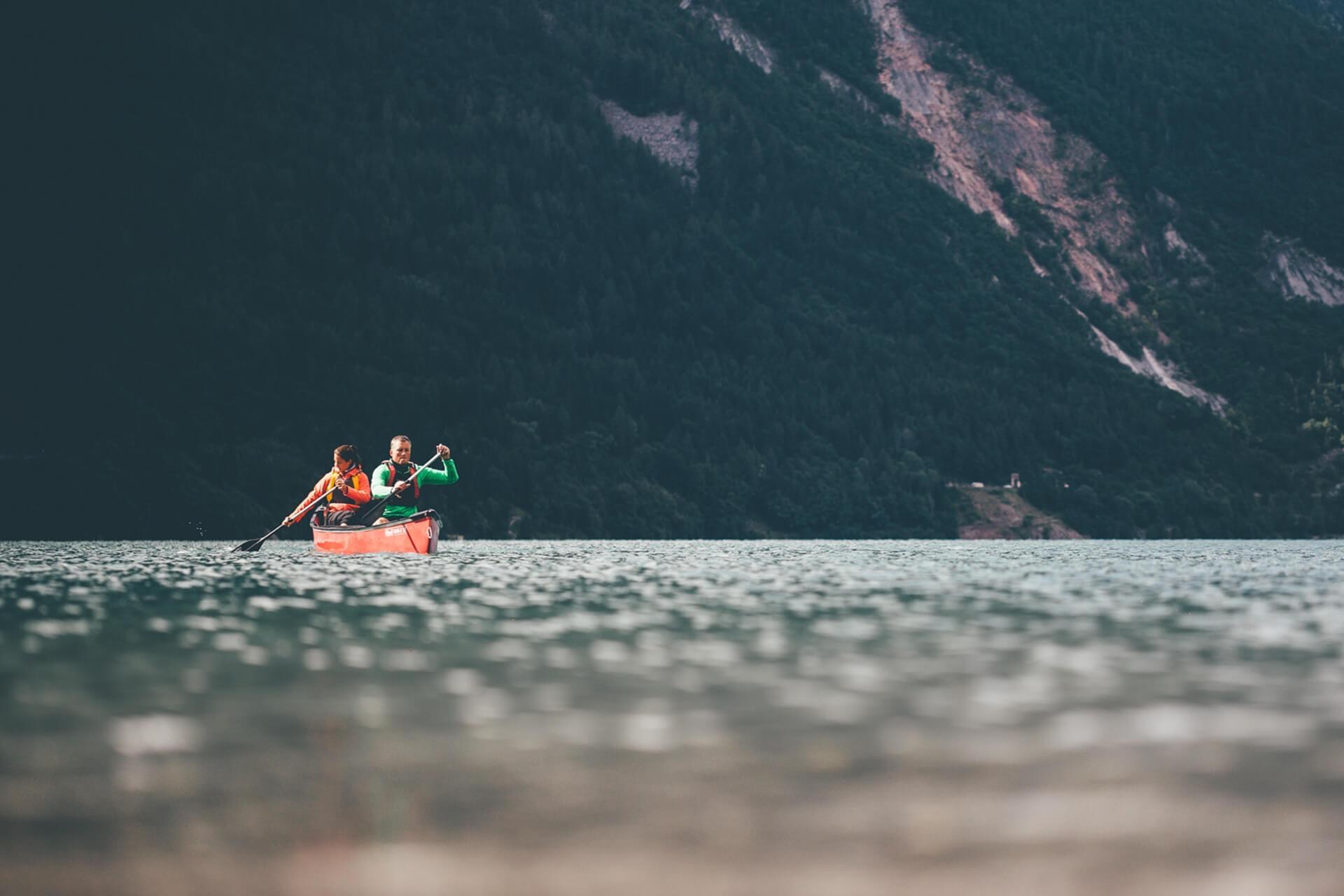 Sport sul lago di Molveno