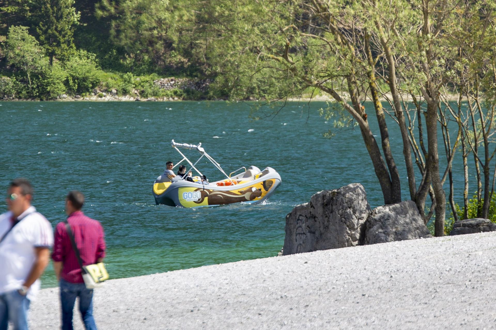 Sport on Molveno lake