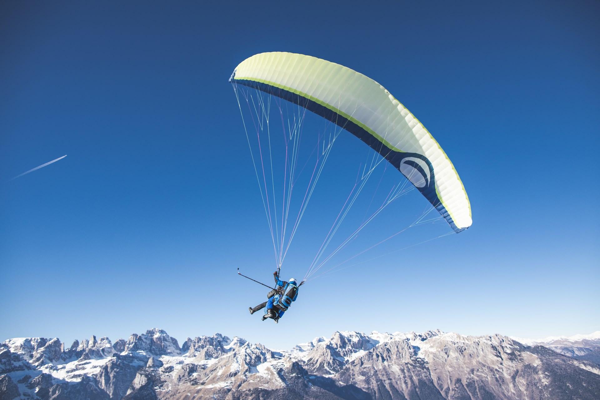 Volare in Parapendio d'Inverno