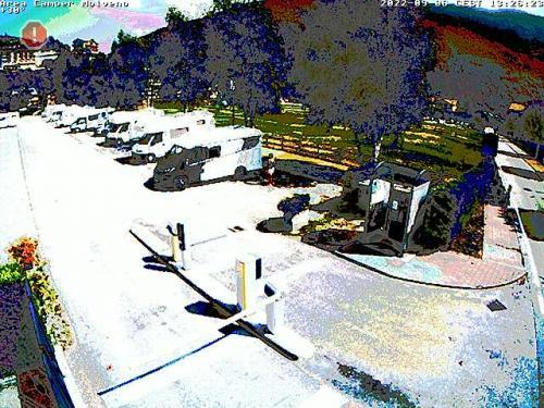 Webcam Paganella: Area sosta camper Molveno