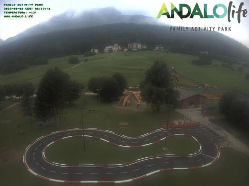 Webcam Paganella: ANDALO LIFE parchi gioco