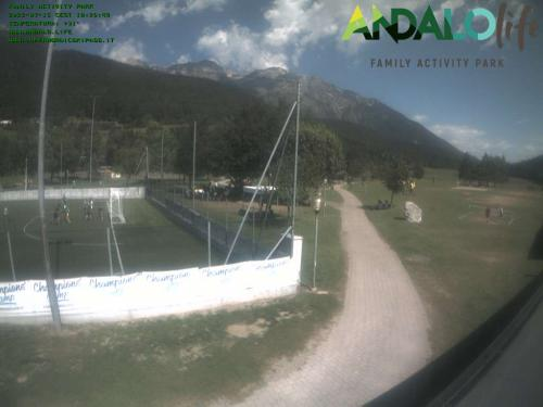 Webcam Paganella: ANDALO LIFE centro fondo