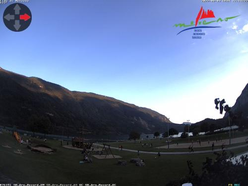 Webcam Paganella: Webcam Lago di Molveno dalla loc. Pradel