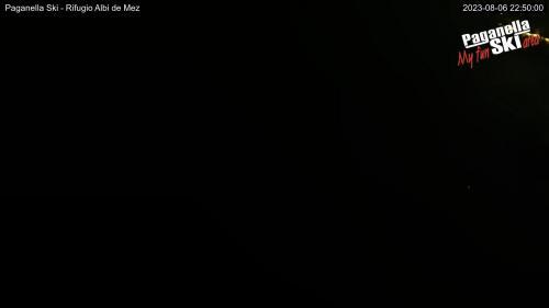Webcam Paganella: Inquadratura dell\'arrivo quadriposto Cima Paganella