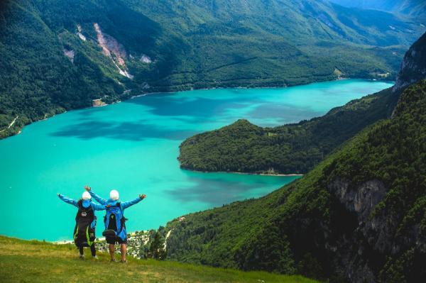 sehen Seen und Berge
