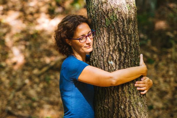 """Waldbaden im Trentino: In den """"Parco del Respiro"""" in Fai della Paganella lässt sich wunderbar eintauchen"""