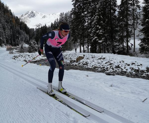Francesca, from skiing down the Paganella to the Italian National Cross-Country Ski Team