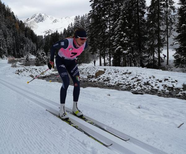 Francesca, dalle discese in Paganella alla Nazionale Italiana di sci di fondo