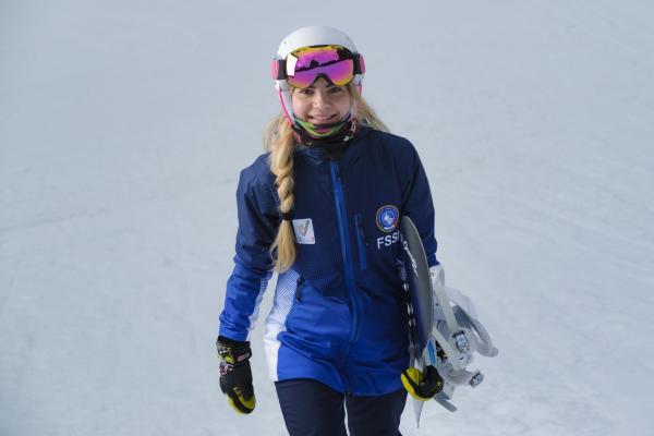 Martina, dalla Paganella alle Deaflympics di snowboard