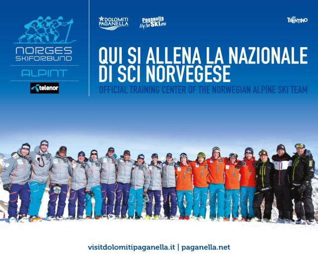 Vedi Norway Ski Team in Paganella