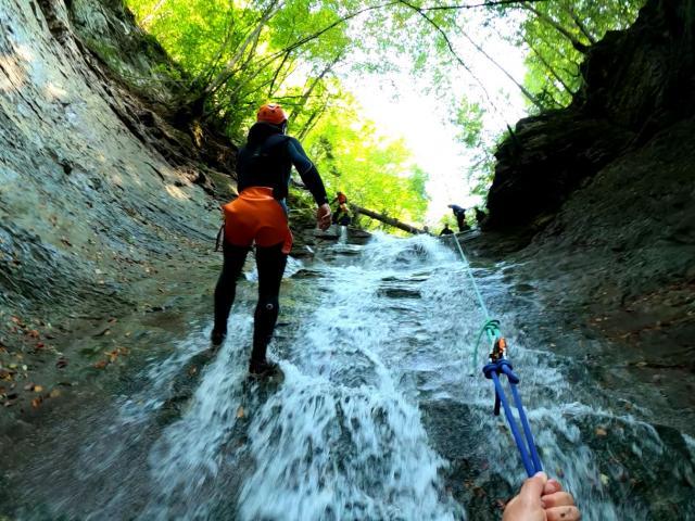 Canyoning nel Rio Briz Cavedago