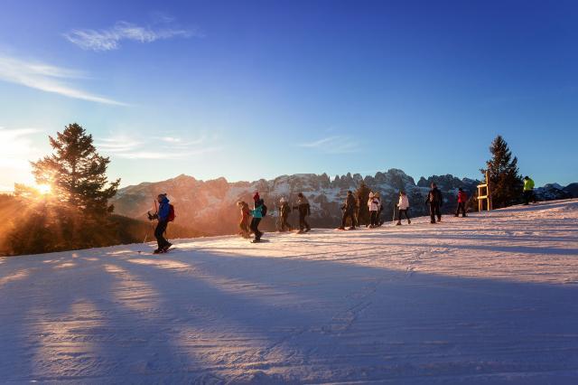 Sunset Snowshoe Tour