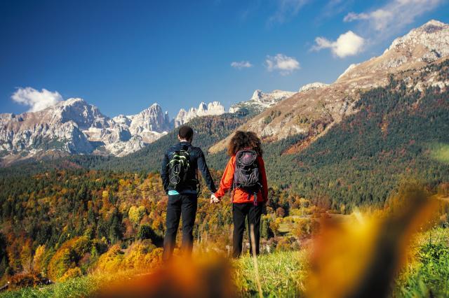 Perché l'autunno è la stagione più bella per trascorrere un weekend in Dolomiti Paganella