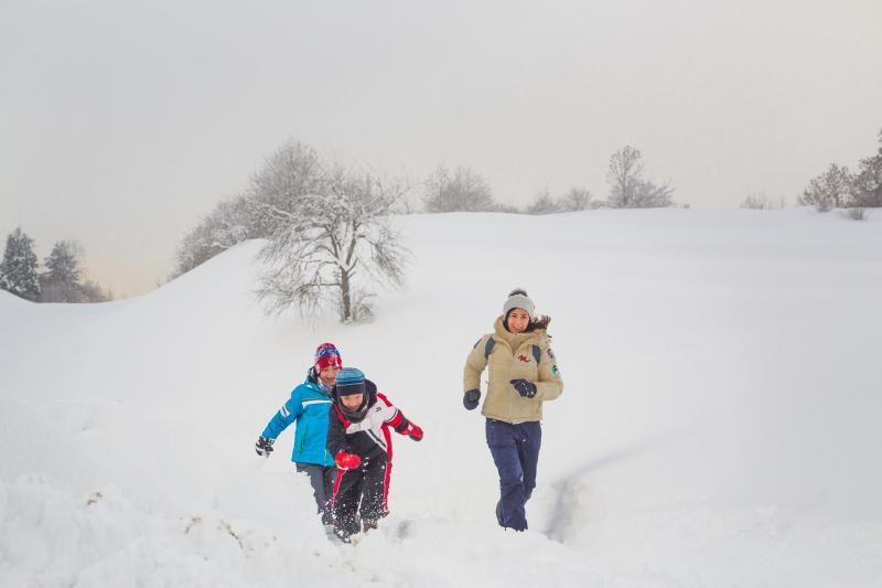 Passeggiate in inverno
