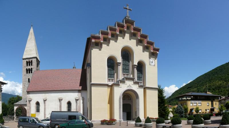 The Church of St. Vigilio in Sportmaggiore