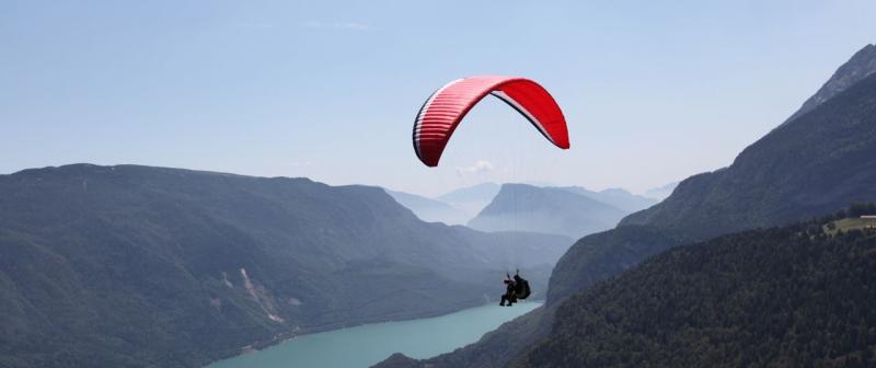 Deltaplano e parapendio sulle Dolomiti