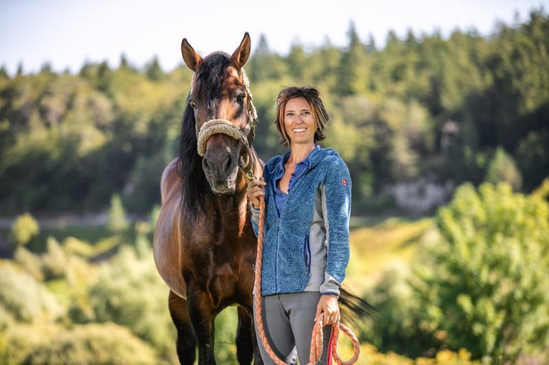 Giovanna, the horseback rider