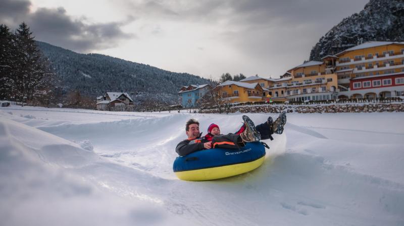 Baby Park im Schnee