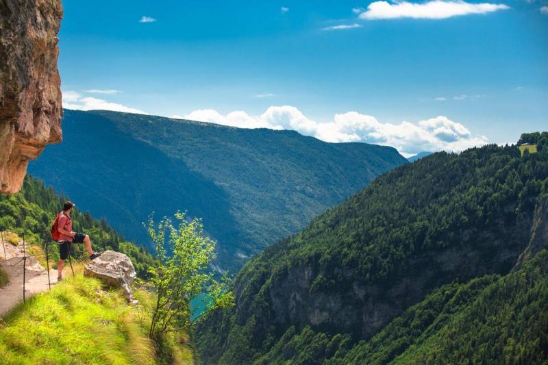 trekking sulle Dolomiti Paganella