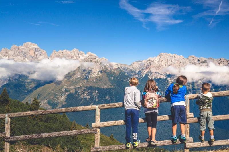 vacanza in montagna in estate Dolomiti Paganella