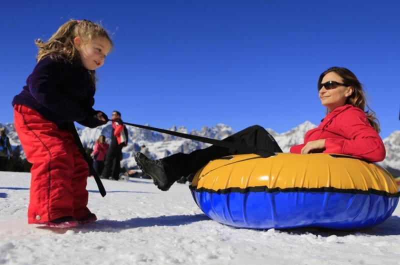 Baby Park sulla neve