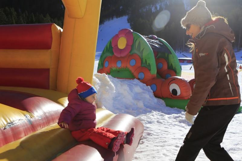 Baby Park sulla neve