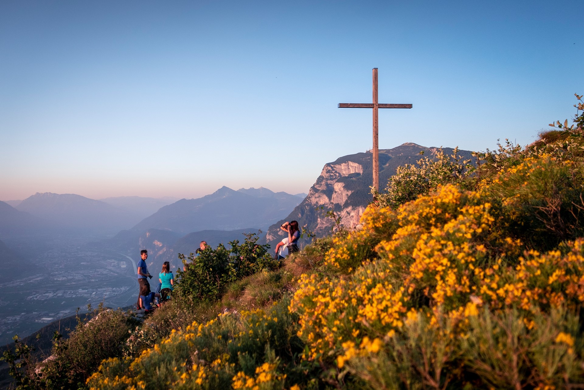 L'alba sul Monte Fausior