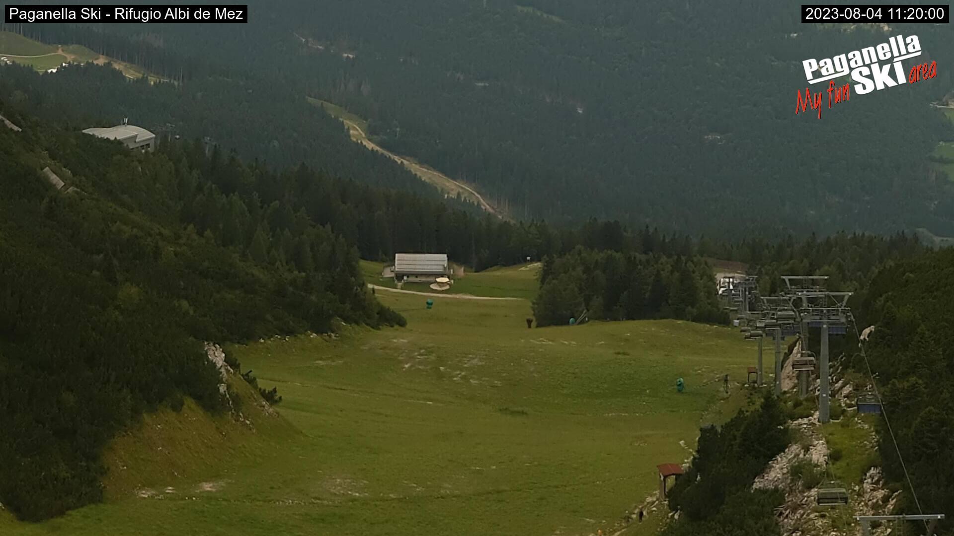 Paganella webcam - Snowpark - Station Pian del Dosson