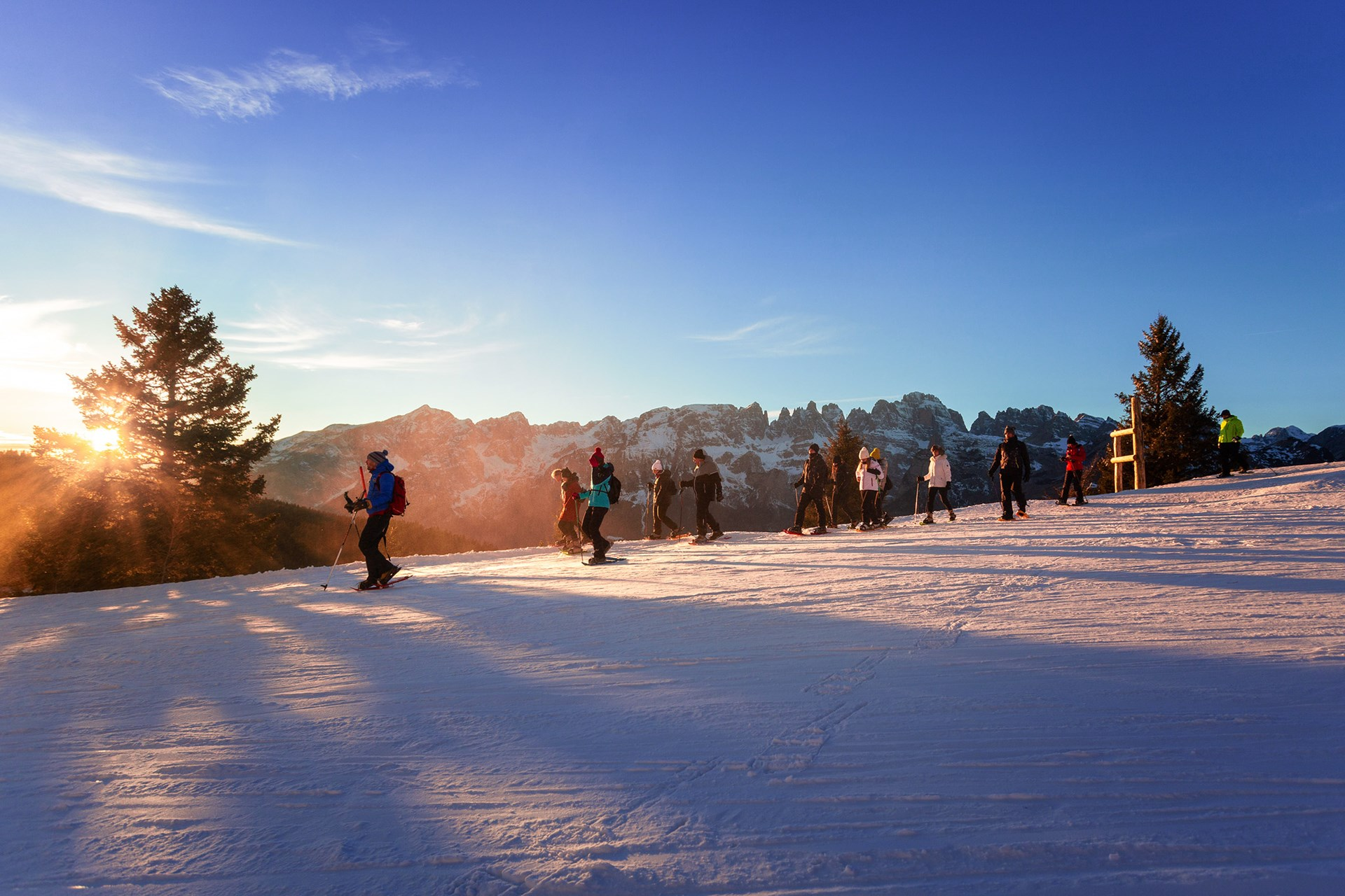 Sunset Snowshoe Tour
