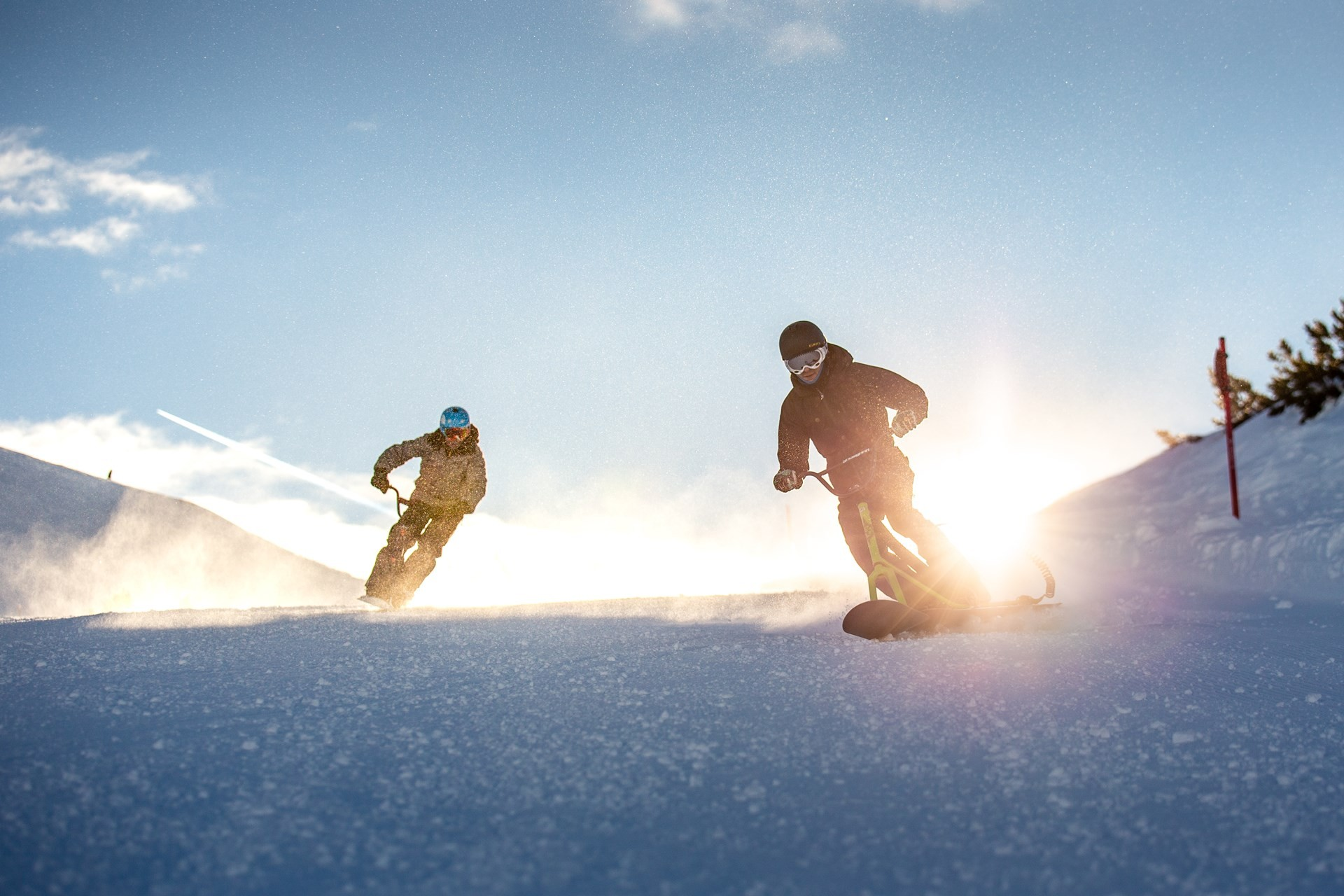 SnowScoot Experience